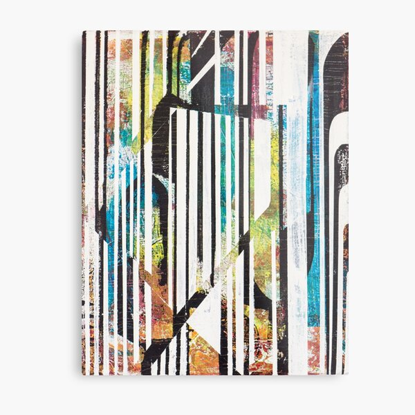 Artworksy Zebra Metal Print