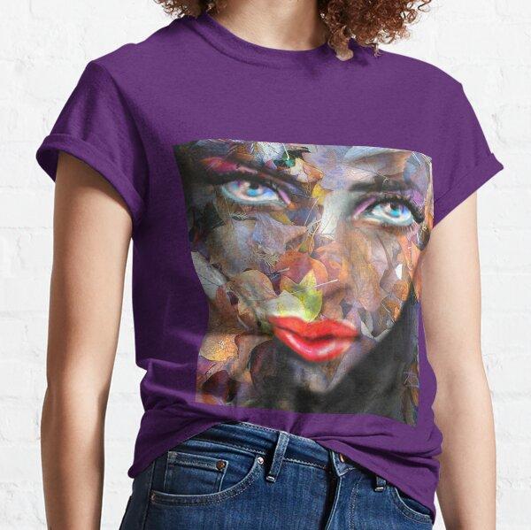 Blue Eyes Autumn Classic T-Shirt