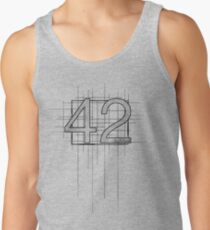 Hitchhiker's Guide to the Galaxy - 42 Tank Top