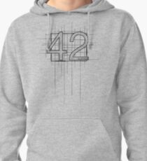 Hitchhiker's Guide to the Galaxy - 42 Pullover Hoodie