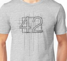 Hitchhiker's Guide to the Galaxy - 42 Unisex T-Shirt