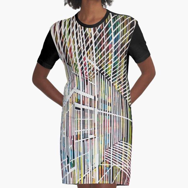 Lines 4 Graphic T-Shirt Dress