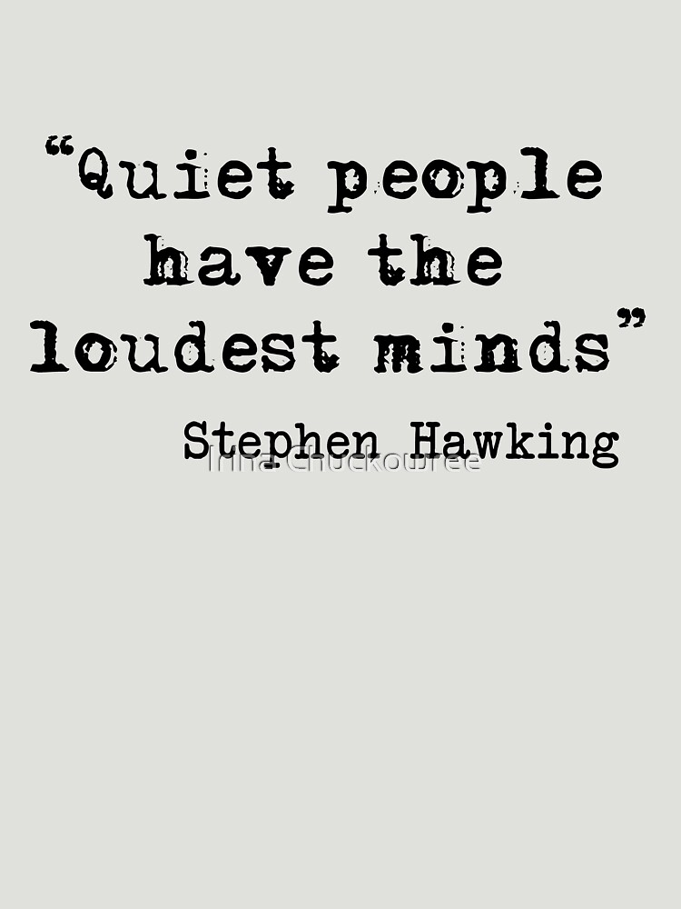 Gente silenciosa de chuckirina