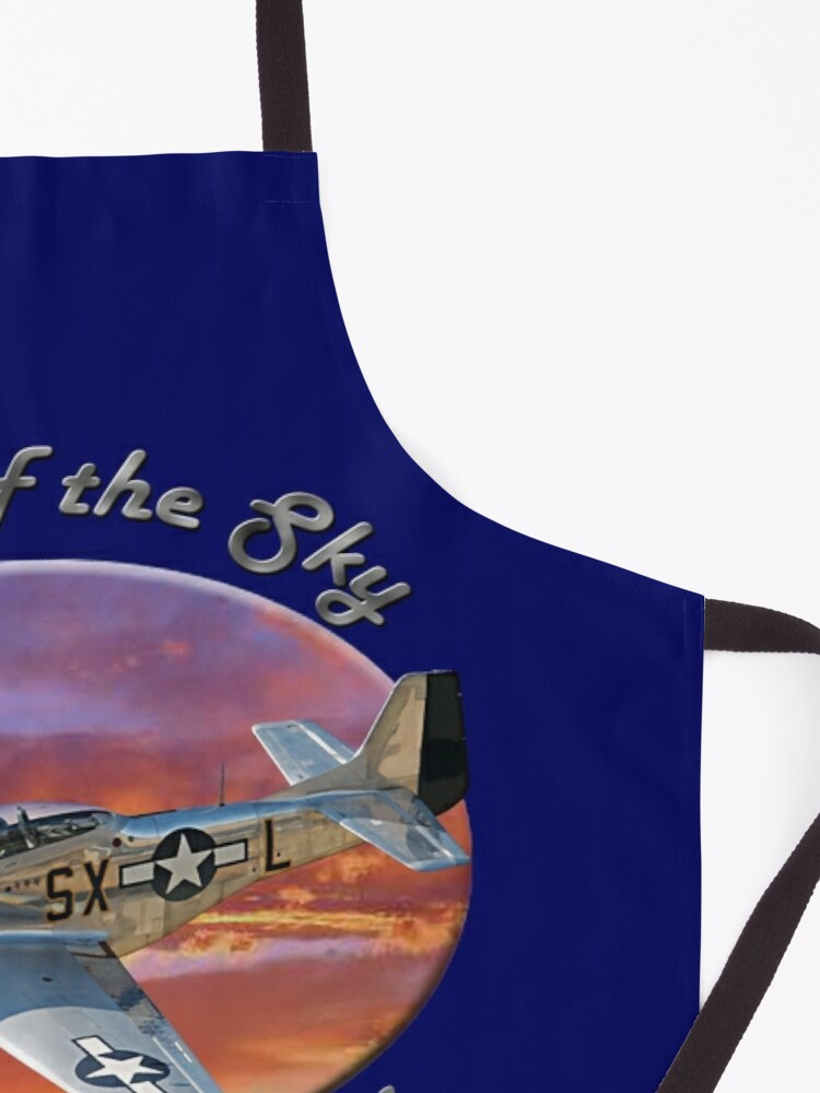 Alternate view of P-51 Mustang King of the Sky Apron