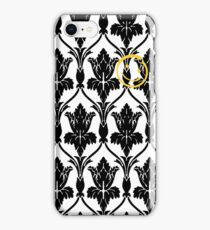 Sherlock smile wallpaper iPhone Case/Skin