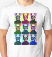 Frankenstein Pop Art T-Shirt