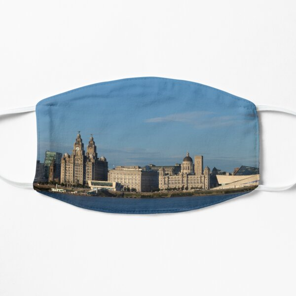 Liverpool in the Summer Sun Flat Mask