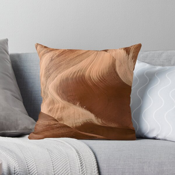 Antelope Canyon --a design from nature Throw Pillow