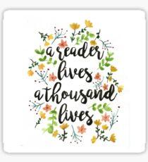 A Thousand Lives  Sticker
