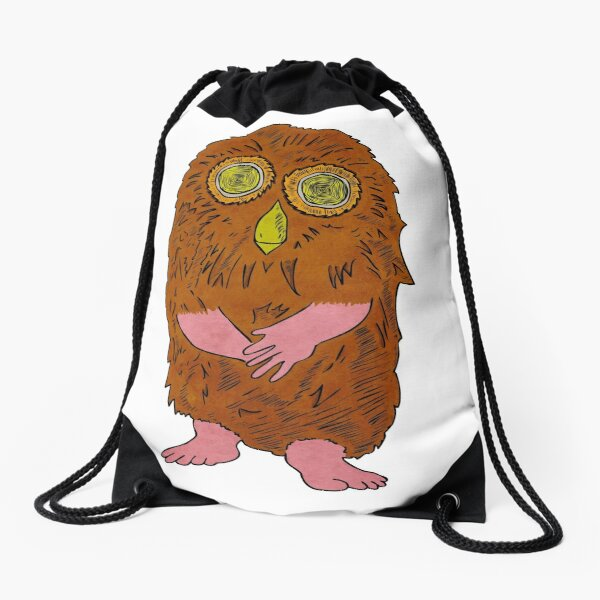 There Is A Place... Owl Drawstring Bag
