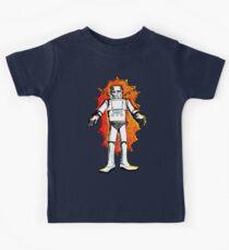 classic sci-fi robot Kids Tee