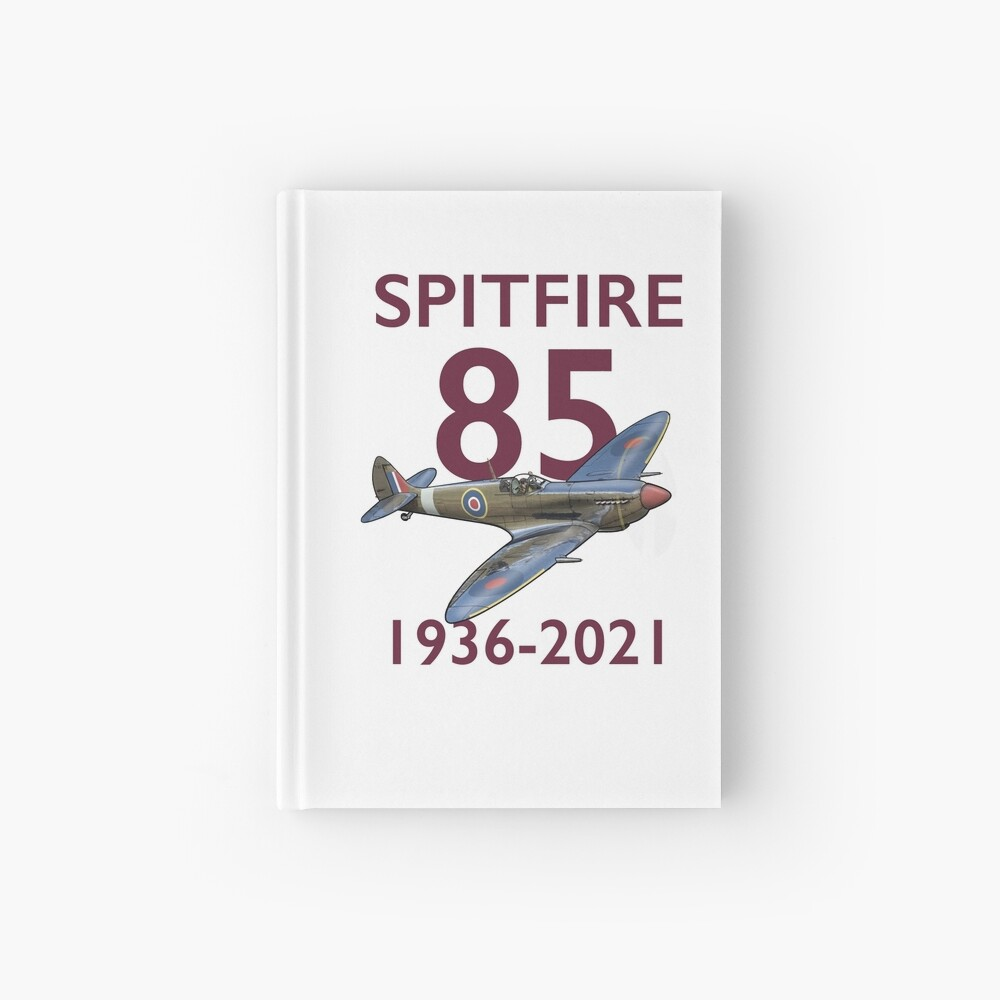 Spitfire 85 Mk 9  Hardcover Journal