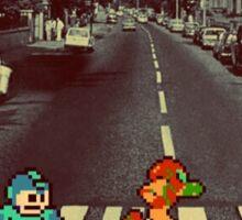 8 bit Abbey Road Sticker