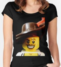 Lego Swashbucker minifigure Women's Fitted Scoop T-Shirt
