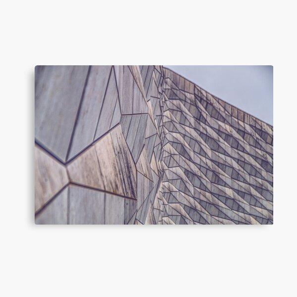 Museum of Liverpool Diamond Scales Canvas Print