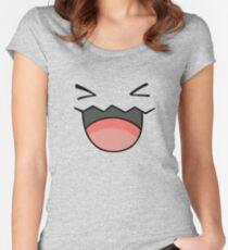 Wobbuffet Face  Women's Fitted Scoop T-Shirt