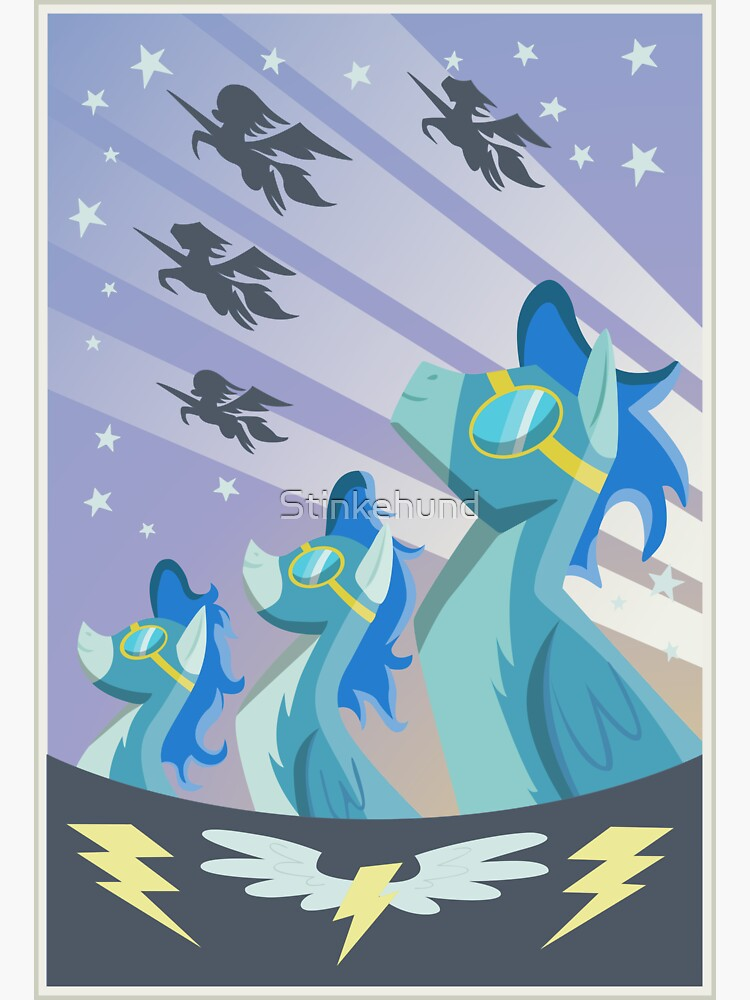 Cartel Wonderbolt de Stinkehund