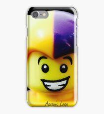 Lego Jester minifigure iPhone Case/Skin