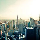 New York Skyline - Photograph by pixelspin