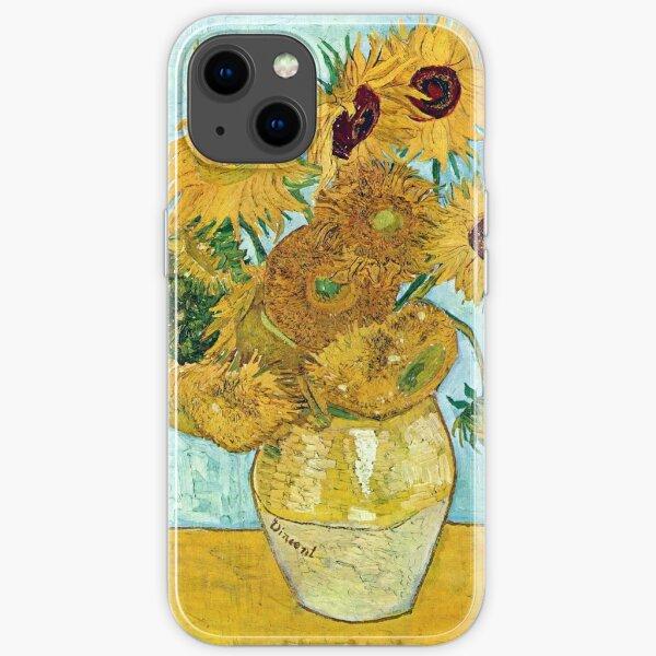Vincent van Gogh Still Life Vase with Twelve Sunflowers iPhone Soft Case