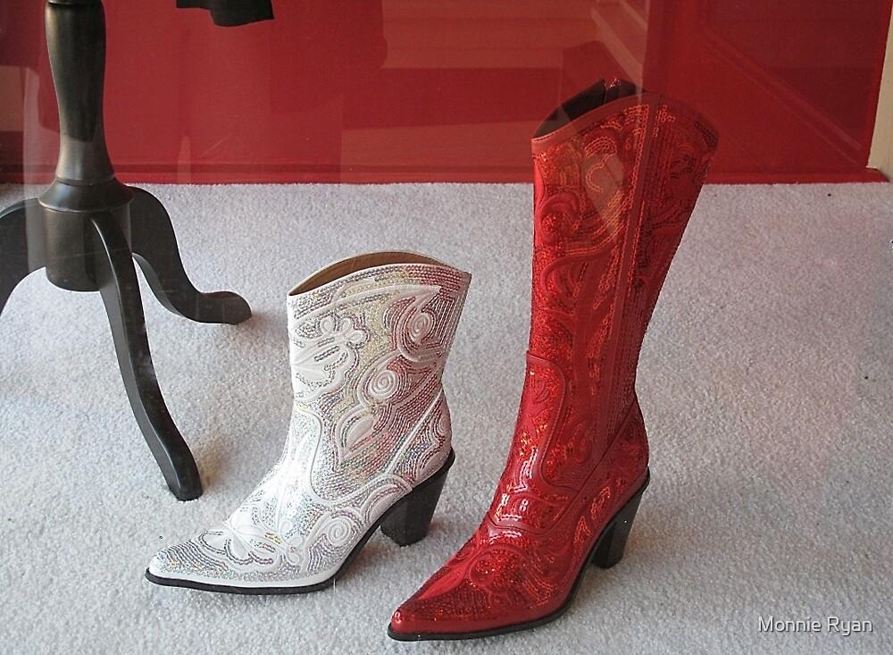 Bridal Boots by Monnie Ryan