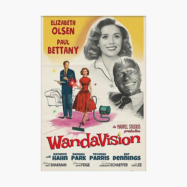 Wandavision Poster Photographic Print
