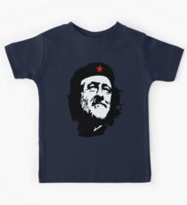 Election, CORBYN, Comrade Corbyn, Leader, Politics, Labour Party, Black on White Kids Tee