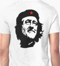 CORBYN, Comrade Corbyn, Election, Leader, Politics, Labour Party, Black on White T-Shirt