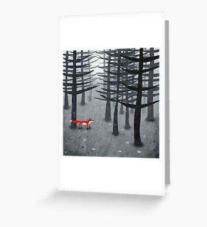 The Fox and the Forest Greeting Card