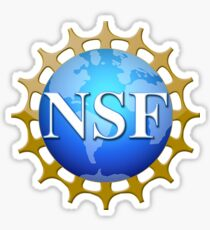 National Science Foundation Logo Sticker