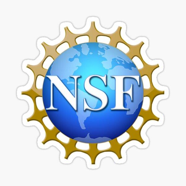 National Science Foundation Logo Sticker
