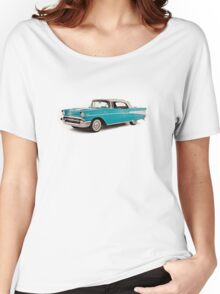 vintage chevrolet blue | Cars Women's Relaxed Fit T-Shirt