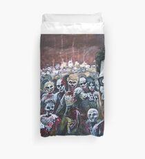Zombie Horde Duvet Cover