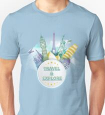Travel & Explore Unisex T-Shirt