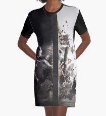 Vestido camiseta DISEÑO DEL COMBATE DEL ARCO IRIS