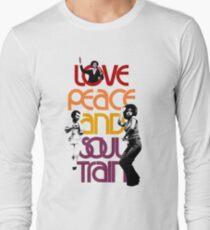 Love, Peace And Soul Train T-Shirt