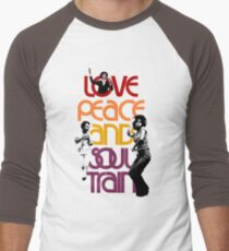Love, Peace And Soul Train T-Shirt