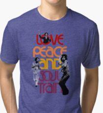 Love, Peace And Soul Train Tri-blend T-Shirt