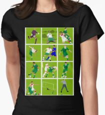 Ireland at Euro 2016 Women's Fitted T-Shirt