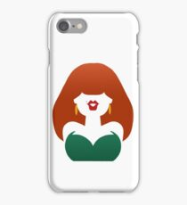 Red-Haired Coquette iPhone Case/Skin