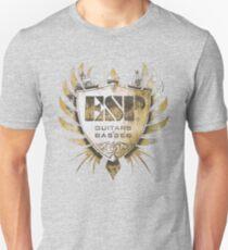 ESP Guitar Craft Academy Grunge Badge Unisex T-Shirt