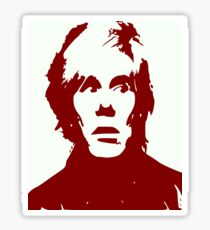 Andy Warhol Sticker