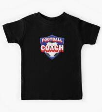 Football coach (soccer) Kids Tee