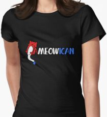 A MEOW ican American cat humor T-Shirt