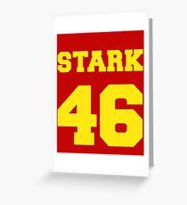 Stark Greeting Card