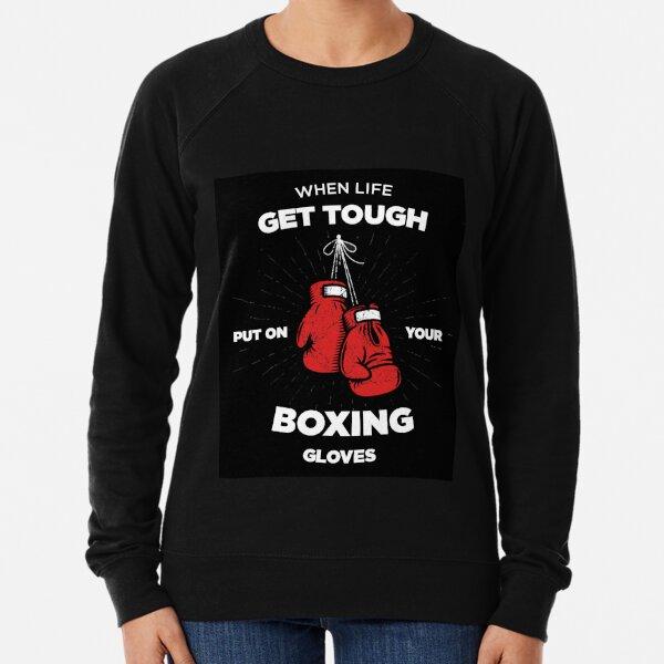 PUT ON YOUR GLOVES (BOXE) Lightweight Sweatshirt