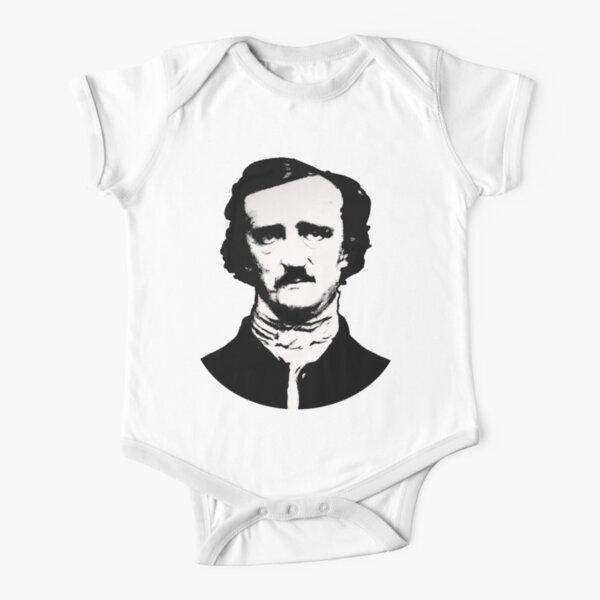 Edgar Allan Poe Baby Body Kurzarm