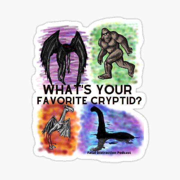Favorite Cryptid Sticker