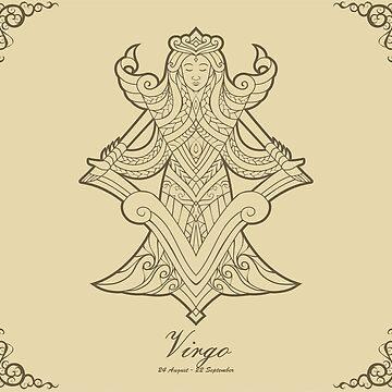 Virgo gold by elangkarosingo