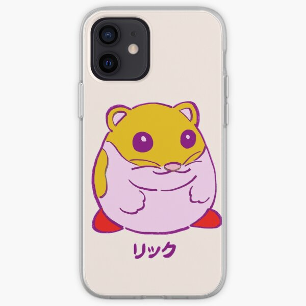 I draw rick the hamster from kirby series. star allies dream friend. iPhone Soft Case
